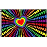 Special Offer....Rainbow Love Flag 5ft X 3ft