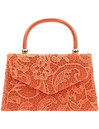 New classy bolso de mano para mujer Elegant Lace mini diseño retro de piñón libre bolsa bandolera de lona 16666