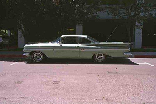 metal-sign-652065-1959-chevrolet-impala-a4-12x8-aluminium