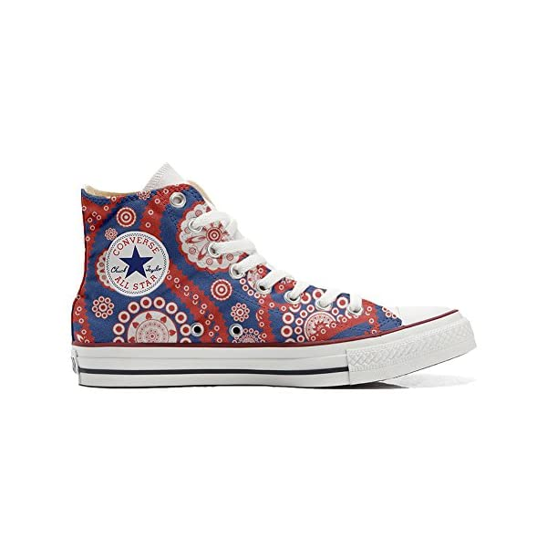 Converse Personalizados All Star Customized – Zapatos Personalizados (Producto Artesano) Vintage Paysley