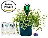 Hoptopper 4 in 1 Bodenfeuchtigkeitsmesser Batterie im Lieferumfang enthalten PH/Feuchtigkeit/Temperatur/Sonnenlicht Gartengeräte-Kit