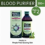 Roop Mantra Ayurvedic Blood Purifier 200ml, Pack of 2 (Helps in Pimple Free Glowing Skin)