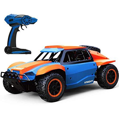 LIIYANN 1:10 Terrain RC Cars 2,4 GHz Super Crash-taugliches ferngesteuertes Auto mit 2 wiederaufladbaren Hochgeschwindigkeitsbuggy-Monster-Truck-Geschenken für Kinder und