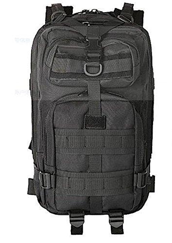 Outdoor bergsteigen Tasche Armee Ventilator Angriff bag camouflage Beutel multifunktionaler Rucksack outdoor Schulter Rucksack 50 * 38 * 28 cm, Army green Schwarz