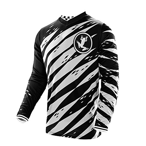 Uglyfrog 2018 Lange Ärmel Jersey Frühlingsart Motocross Jersey Herren Mountain Bike Downhill Shirt Sportbekleidung Kleidung (Hosen Fox Reiten)