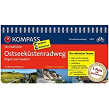 Ostseeküstenradweg 1 Rügen und Usedom: Fahrradführer mit Routenkarten im optimalen Maßstab. (KOMPASS-Fahrradführer, Band 6002)