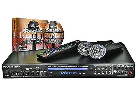 Vocal-Star VS-1200 HDMI Pro Smart Karaoke-Set mit Bluetooth und 150