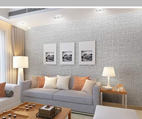 ELECTOLS Hintergrundbild PVC-Fliesentapete Selbstklebende Küche ölbeständige Klebefolie, Möbelsanierung, Esszimmer, Wohnzimmer, strukturierte Profiltapete, Hellgrau 5 m x 60 cm