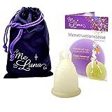 Me Luna Coupe menstruelle Sport, bague, Gold Glitter, Taille L