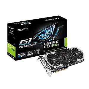 Gigabyte GTX 980Ti G1 Scheda Video, 6GB, PCIE, Nero
