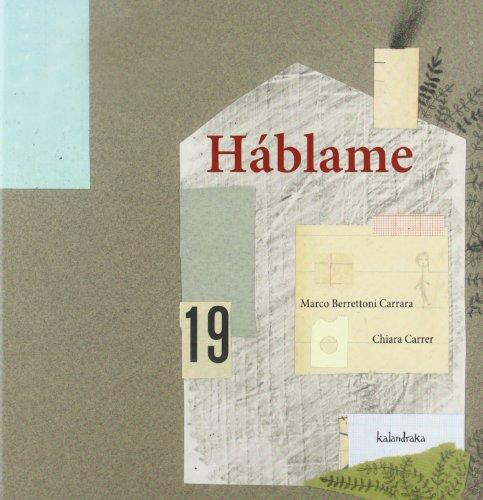 Háblame (libros para soñar) por Marco Berrettoni Carrara