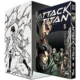 Attack on Titan, Band 5 im Sammelschuber mit Extra