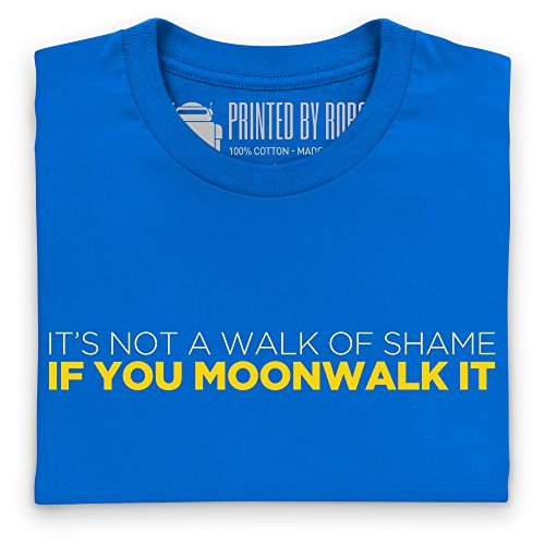 Moonwalk It T-Shirt, Herren Royalblau