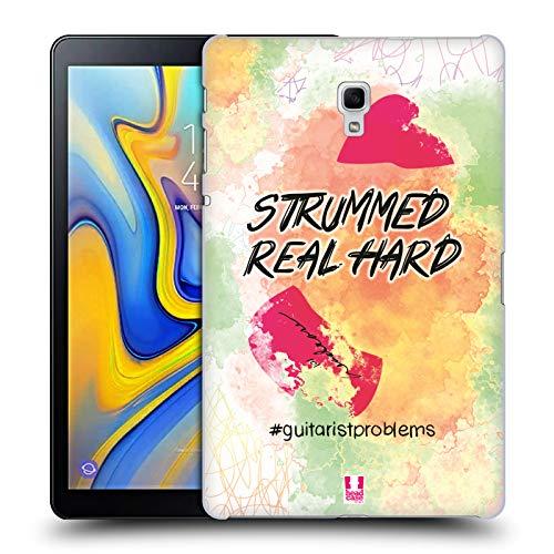 Head Case Designs Plektrum Probleme Mit Der Gitarre Ruckseite Hülle für Samsung Galaxy Tab A 10.5 (2018)