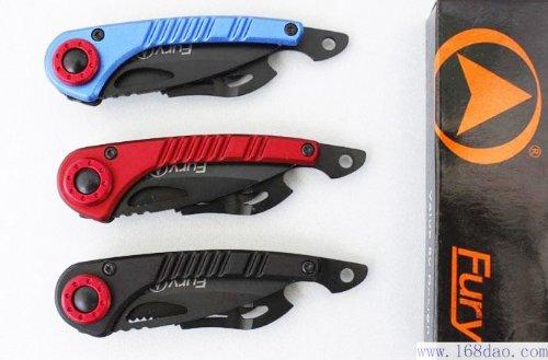 3 X American Fury Bird Aluminiumgriff Taschenmesser Messer Klappmesser