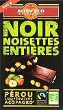 Alter Eco Tablette de Chocolat Noir Noisettes Entières Bio et Equitable 200 g