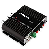 ELEGIANT 20W 12V HIFI Mini Amplificateur Stéréo Super Bass Car Amplifier Pour Voiture/Maison Radio Ordinateur CD DVD MP3 MP4 IPhone Ipod etc