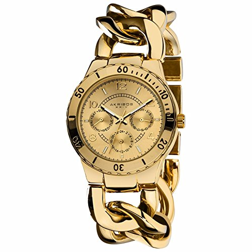 Akribos XXIV Akribos XXIV Dorado Damas Reloj AK642YG