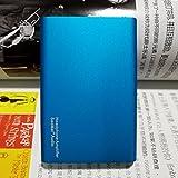 SAOMAI Bleu HIFI Amplificateur Casques d'Écoute Portable – Batterie Recheargeable