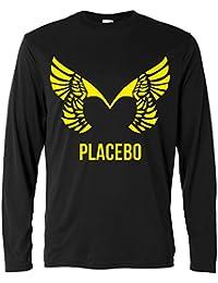Herren Langarmshirt - Placebo - Yellow print - Long Sleeve 100% Baumwolle LaMAGLIERIA