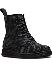 Dr.Martens Newton Reflective Snake Skin Black Womens Boots Size 5 UK