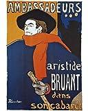 1art1 50893 Henri De Toulouse-Lautrec - Aristide Bruant