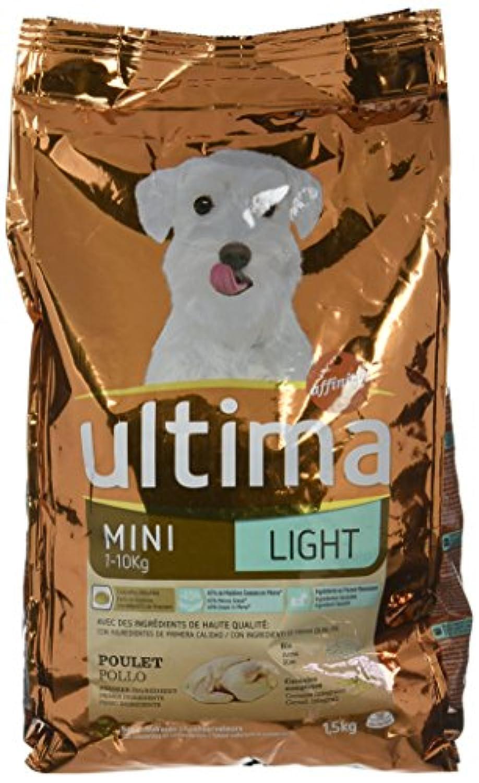 Ultima Croquettes Pour Chien Adulte Spécial Mini Light 15