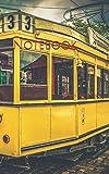 Notebook: Tram train old rails track traffic transport