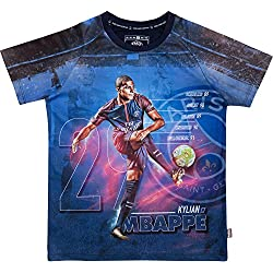 PSG Maillot Kylian MBAPPE - Collection Officielle Paris Saint Germain - Taille Enfant 10 Ans