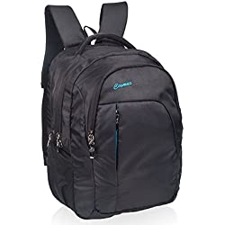 Cosmus Linux 39 litres Black & T Blue Laptop Backpack