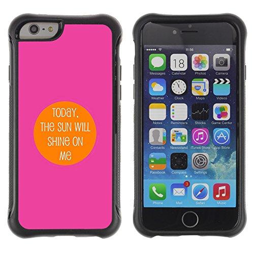 Graphic4You Be Fearful Of Mediocrity Englisch Zitat Nachricht Shockproof Anti-Rutsch Weichen Hülle Case Tasche Schutzhülle für Apple iPhone 6 Plus / 6S Plus Design #4