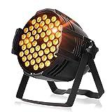 ZjRight Par Luci 90 W LED DJ PAR luce da palcoscenico RGBW DMX 512 illuminazione da palcoscenico Disco Proiettore per casa matrimonio chiesa concerto superficie danzante illuminazione
