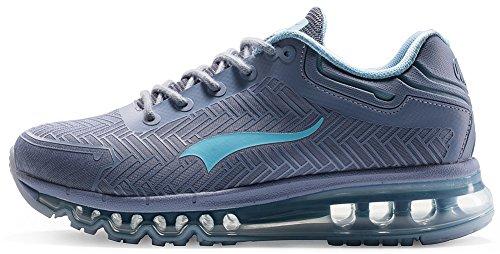 Onemix Chaussures De Course Pour Homme Athletic Gymnastics Running Grey