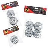 Microfono griglia rete testine di ricambio per Shure SM58, AKG, Sennheiser etc- multiplo quantità x2 Grills