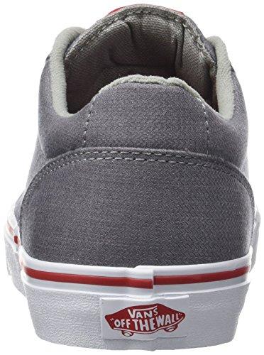 Vans Mn Winston, Sneakers Basses Homme Gris (Woven)