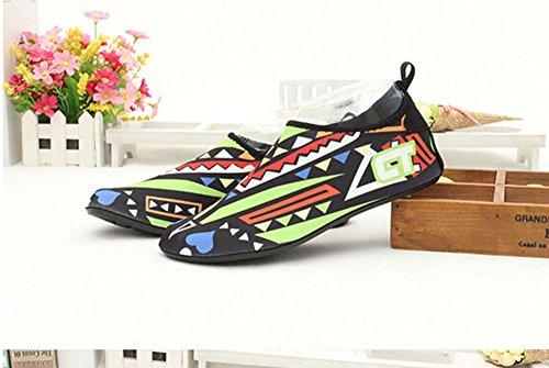 Chaussures de Sport Chaussures Eau Treadmill Chaussures de Randonnée Chaussures de Yoga Doux jaune