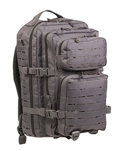 Zaino piccolo US Assault Pack Laser Cut Urban Grigio