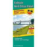 Radroute Nord-Ostsee-Kanal: Leporello Radtourenkarte mit Ausflugszielen, Einkehr- & Freizeittipps, wetterfest, reissfest, abwischbar, GPS-genau. 1:50000