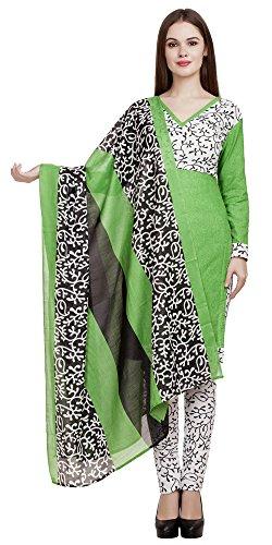 DivyaEmporio Women's Faux Cotton Printed Unstitched Salwar Suit Dress Material