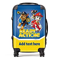 """Ready for Action"" Paw Patrol Personalised Suitcase"