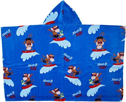 Chicco 09040868000000, asciugamano bimbo, multicolore (azzurro scuro 028), taglia unica (taglia produttore:099)