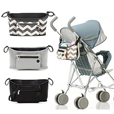 BBsmile Cambiador de bebés Stroller Buggy Storage Bolsa de carrito Organizador de copa de botella