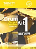 Trinity College London : Drum Kit 2014-2019 Book 1  Percussion Teaching Material + CD