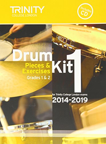 drum-kit-2014-2019-book-1-grades-1-2-pieces-exercises-for-trinity-college-london-exams-with-free-aud