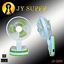 Berry Portable Fan Rechargeable Battery Mini Oscillating Clip
