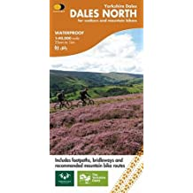 Yorkshire Dales: Dales North: Wensleydale and Swaledale (Outdoor Map)