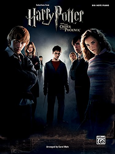 Selections from Harry Potter and The Order of the Phoenix : Big Note Piano
