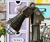 HHORD Home Wasserhahn Mechanische Simulation USB Schreibtisch Lampe Student Geschenke antiken Alten Retro industriellen Licht, 1