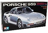 Porsche 959 Coupe Silber 1986-1988 Kit Bausatz 1/24 Tamiya Modell Auto mit individiuellem Wunschkennzeichen