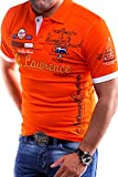 MT Styles Poloshirt LAWRENCE T-Shirt MP-301 [Orange, 3XL]